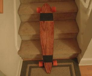 My Red Oak Longboard