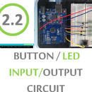 Button LED Input/Output Circuit