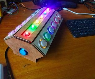 点击Tap Rainbow  -  2播放机快速反应游戏