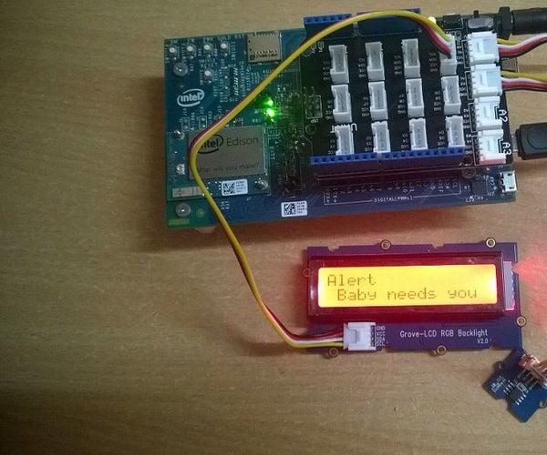 Smart Baby Monitor With Intel Edison and Ubidots