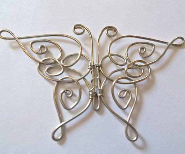 Celtic Butterfly Pendant