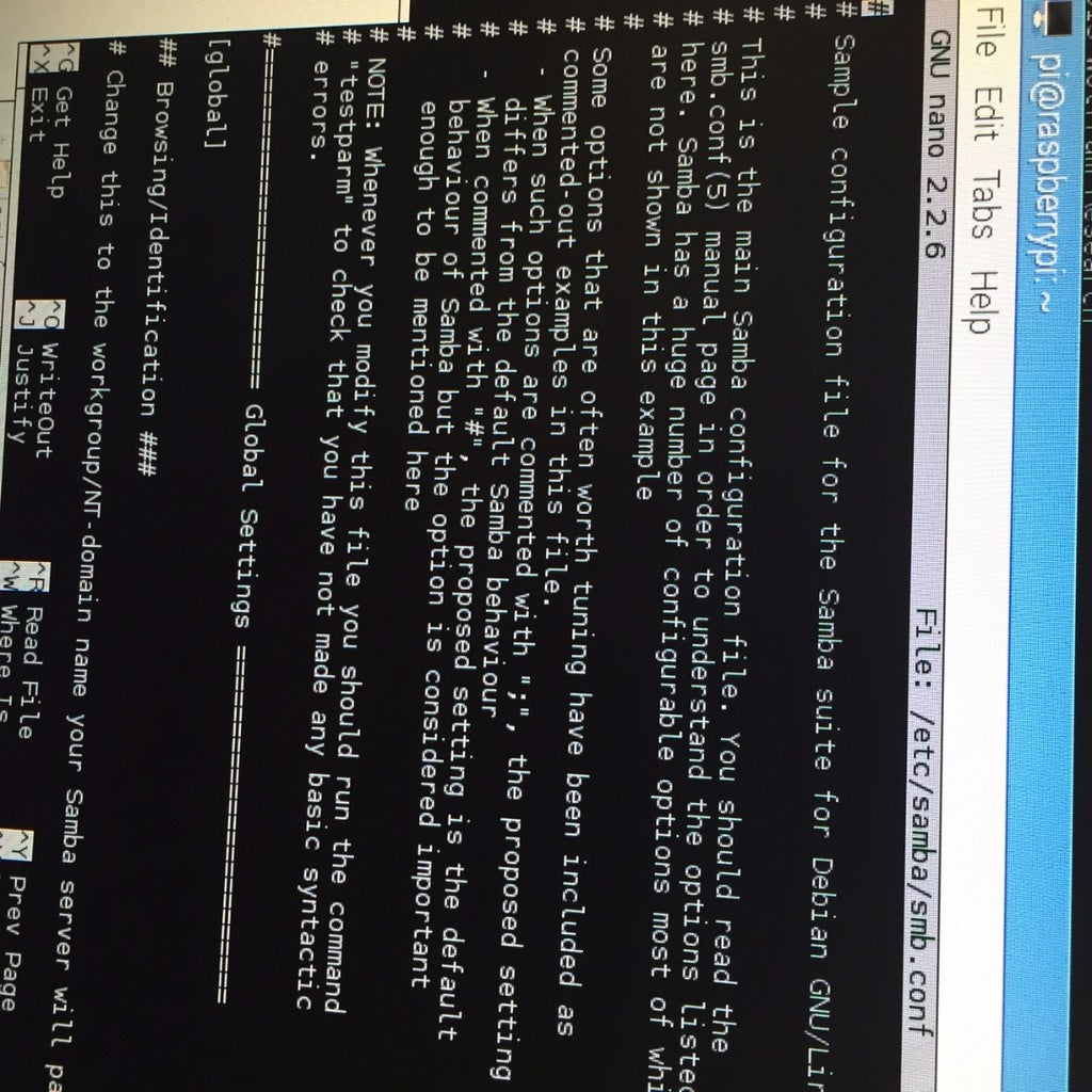 Downloading and Configuring Samba