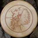 Wooden Frisbee