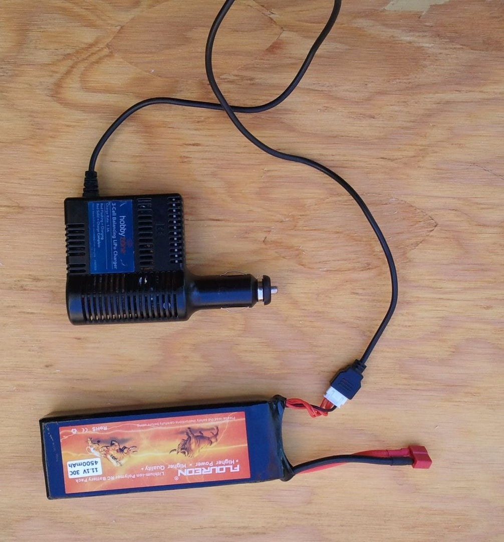 The RC Battery (and Charger)