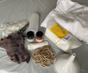 How to Make a Tie Dye Hoodie