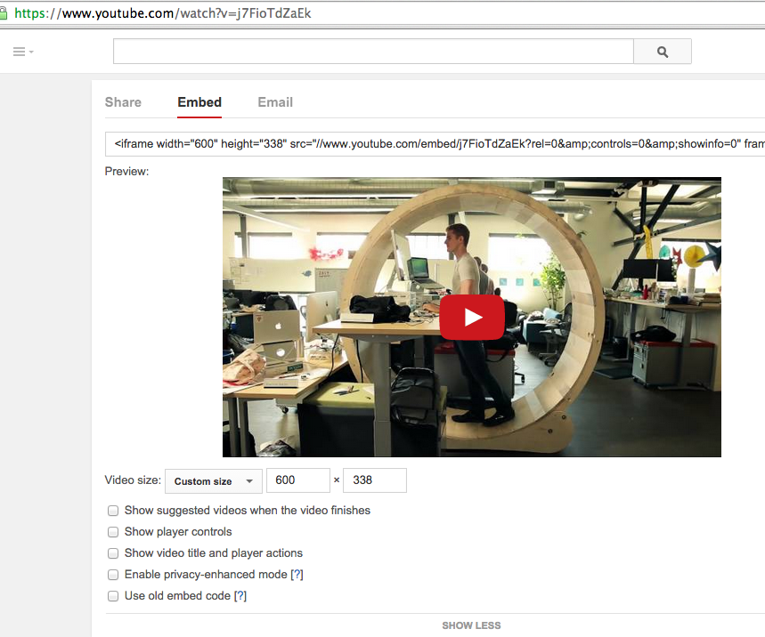 Youtube fake GIFs on an Instructable