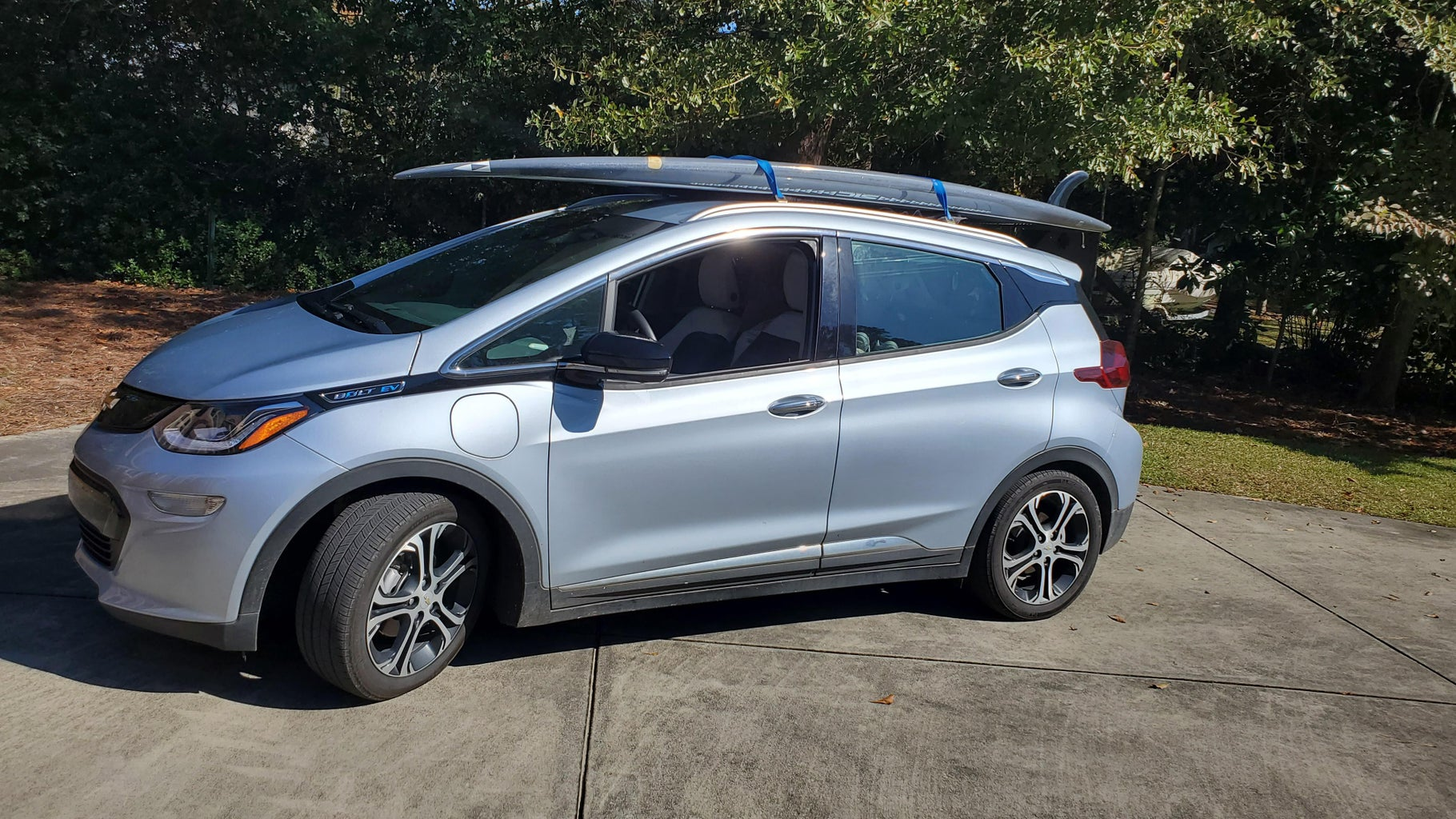 Stand Up Paddleboard SUP Roof Rack for Chevy Bolt EV (Chevrolet Bolt)