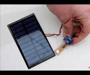 Make Your Own Rainbow LED Solar Lantern With Super Capacitors