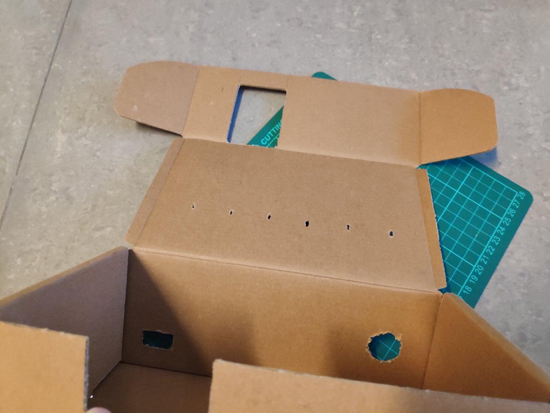 Step 4: Cut the Cardboard Box