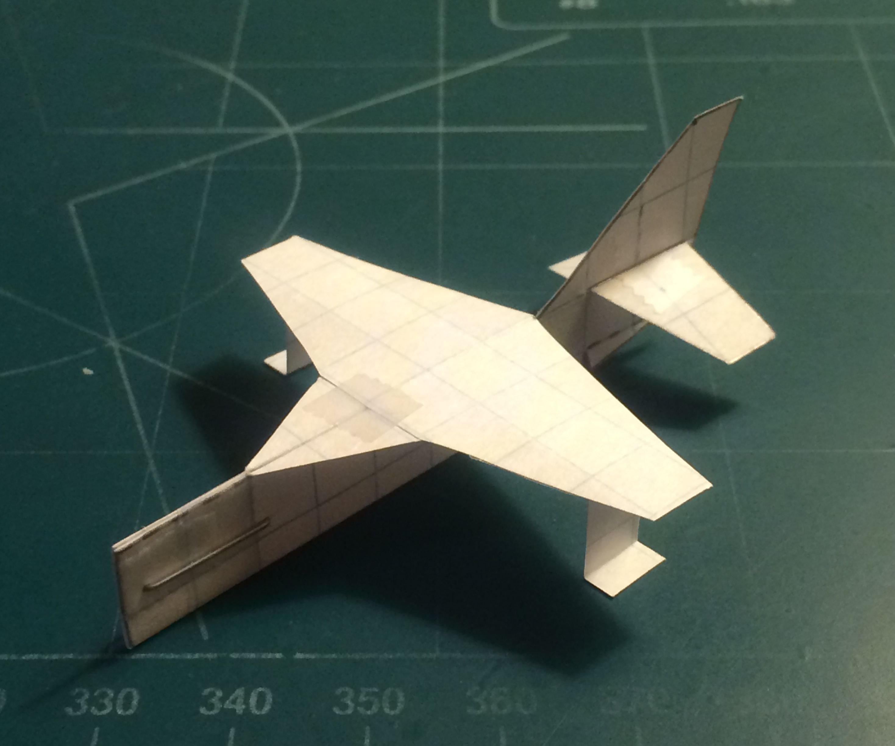 How To Make The Simple StratoCardinal Paper Airplane
