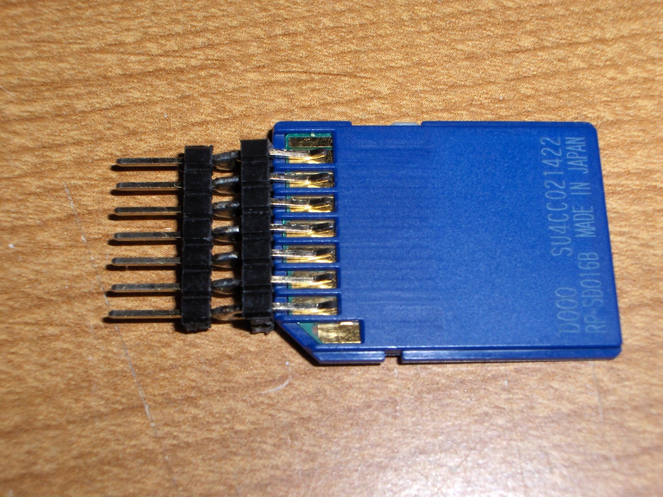 SD//MMC Card Breakout Board for DIY
