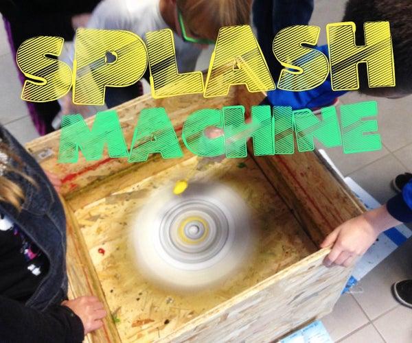 Splash Machine [Spin Art Maker]