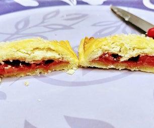 草莓馅饼和菠萝迷你choco馅饼