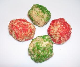 White Chocolate Pomanders Aka Rum Balls