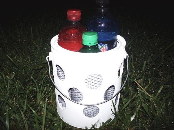 Dew Bucket : Evaporative Drink Cooler