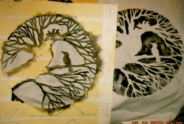Easy Tape Stencils for Decorating, Clothes, T-shirts Etc...