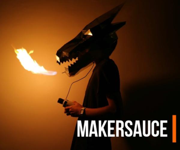The Fire-breathing Steel Dragon Helmet