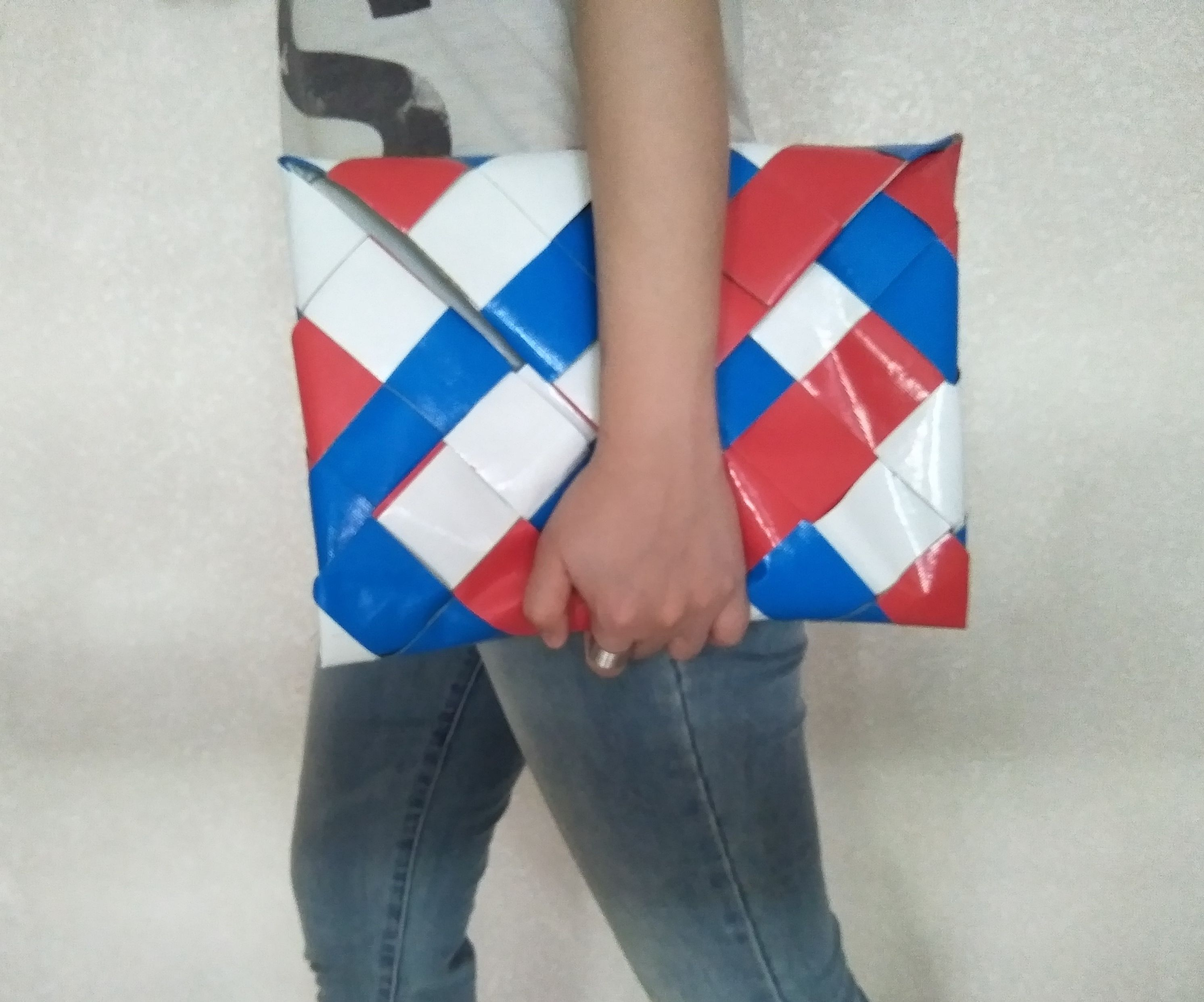 Woven Duct Tape Laptop Sleeve