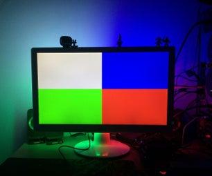 Ambilight, 4-channels [Arduino Mega2560]