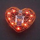 Beating LED Heart