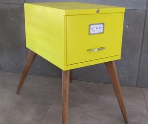 Upcycle Furniture - Israeli Vintage Office Drawer