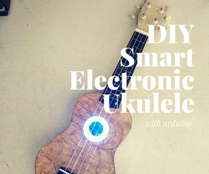 DIY Smart Electronic Ukulele With Arduino