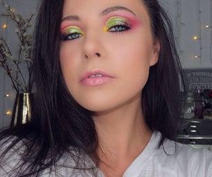 Dramatic Colourful Cut Crease