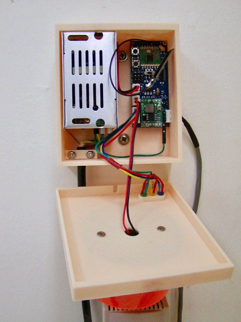 Assemble and Locate the Control Box