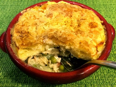 Chicken Pot Pie With Puffed Pastry Dough