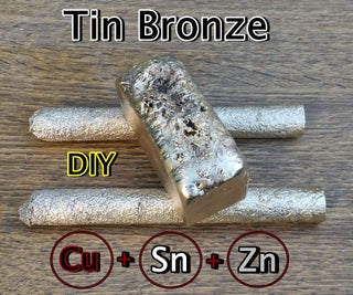 Making Tin Bronze. DIY Bronze. Classic Bronze