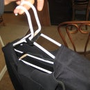 How to make a vented coat hanger for a wetsuit