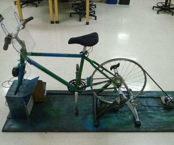Bike Generator Charging Station