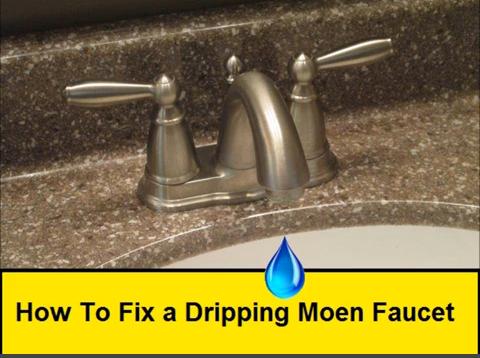 How To Fix a Dripping Moen Faucet
