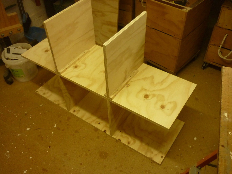 Bracing and Second Shelf