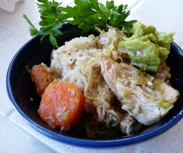 Green Chili Chicken (One Pot)