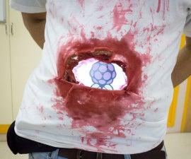 Raspberry Pi Zombie Carnival Costume