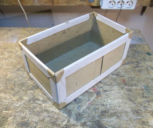 Fixing/Making/Reinforcing Boxes With Packaging Waste