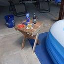池畔/炉边雪松末端桌