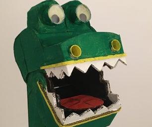 Datoscope:恐龙潜望镜 - 由纸板制成!