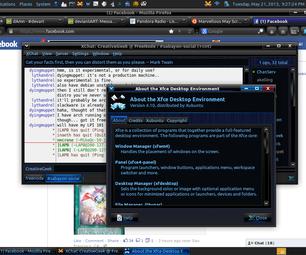 Xubuntu 13.04 - GNOME 2 Mimic