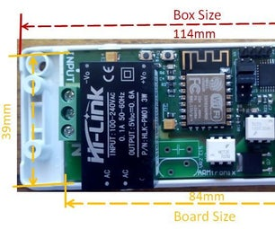 Wifi Two Triac Dimmer Board