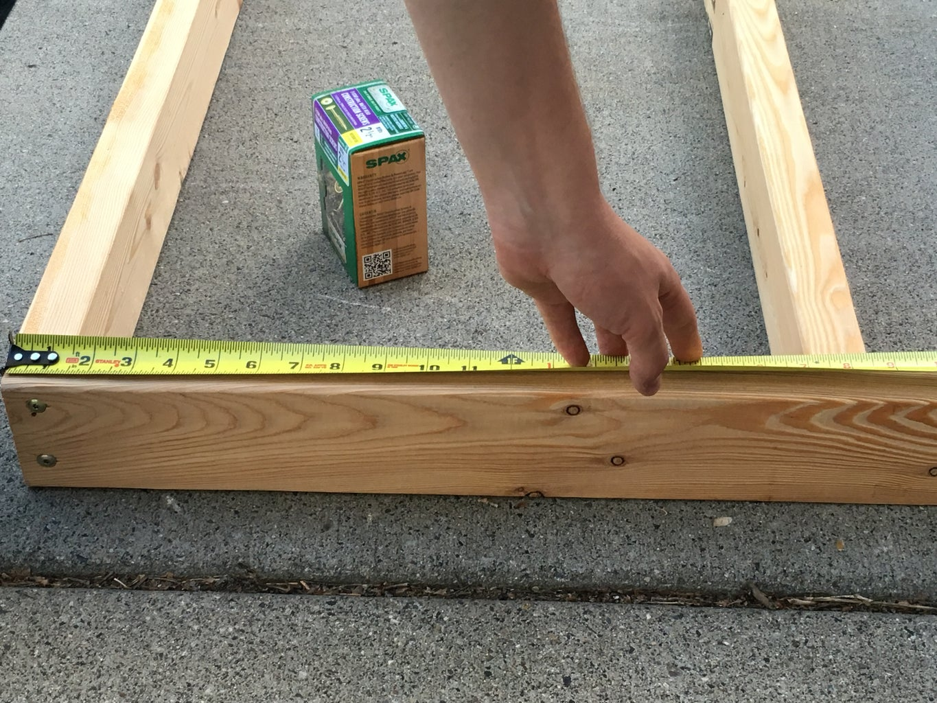 Build Table Top