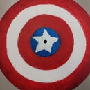 Captain America Shield With Drum Cymbal
