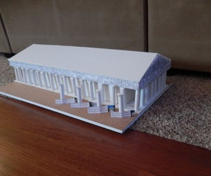 How to Make a To-Scale Model of the Parthenon in Greece