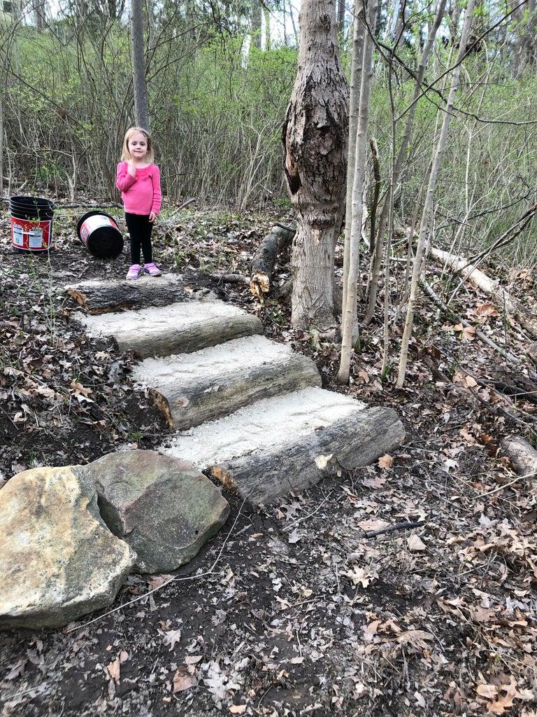 Stone and a Small Bridge
