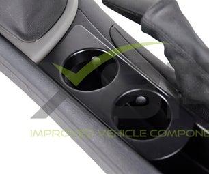 BMW 1 Series E81 E82 E87 E88 Center Console Cup Drinks Holder Instruction Install Fitting Guide