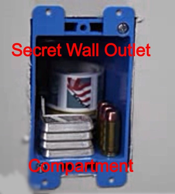 Super Secret Compartment Using Outlet