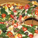 Spinach and Rocket Pizza From a Frozen Four Cheese Pizza