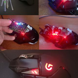 Change Led Color on the Logitech G502