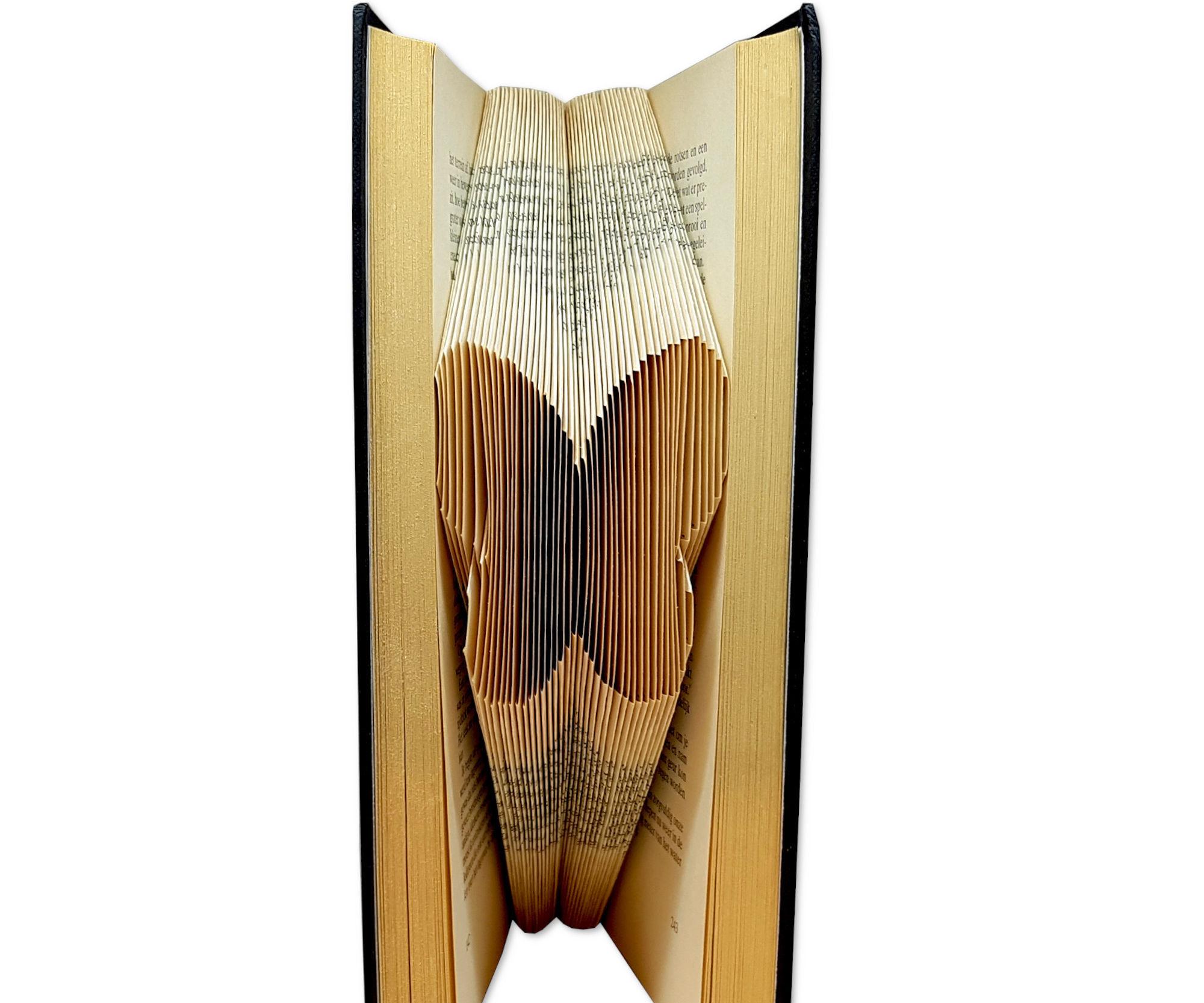 Create Your Own Piece of Folded Book Art - Bookfolding Pattern Butterfly - Free Online Workshop